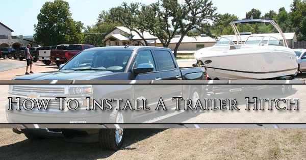 How to install a trailer hitch cliff s welding