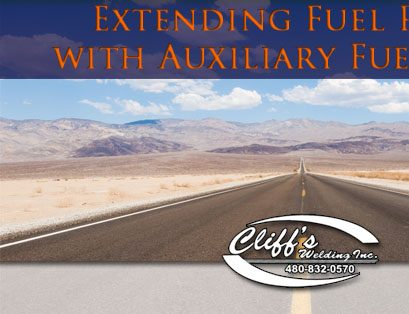 Extending Fuel Range with Auxiliary Fuel Tanks