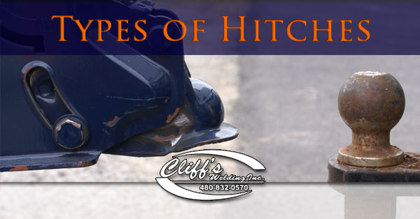 5th Wheel Gooseneck Hitch >> Types Of Hitches - Cliff's Welding