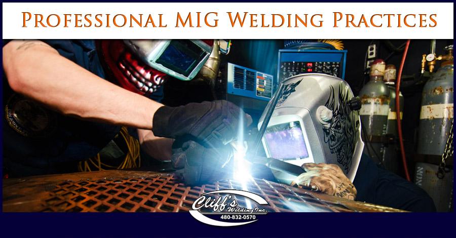 Professional MIG Welding Practices - Cliff's Welding