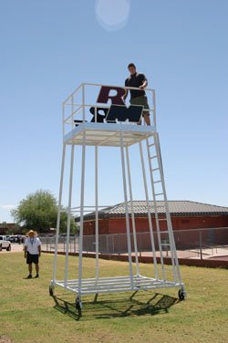 Football Filming Tower Portable