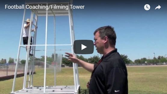Football Filming Tower YouTube Video